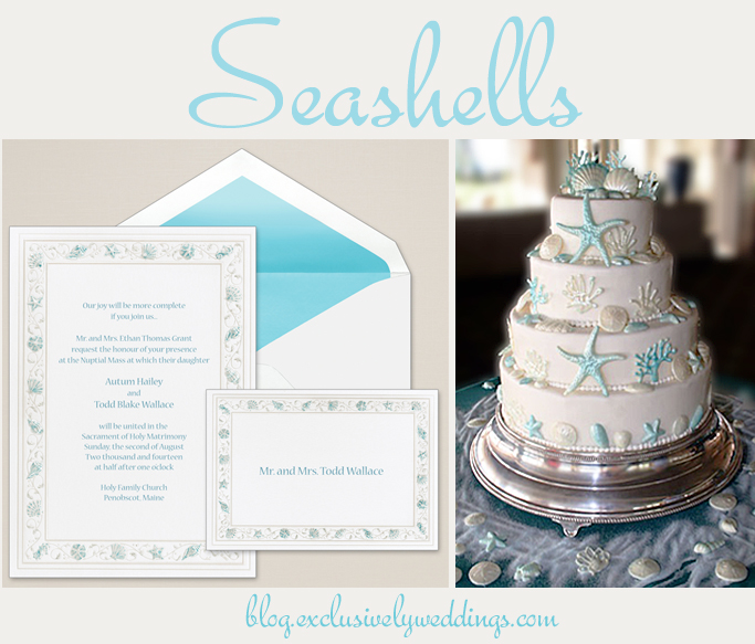 colorful wedding invitations . . . with cakes to match, Wedding invitations