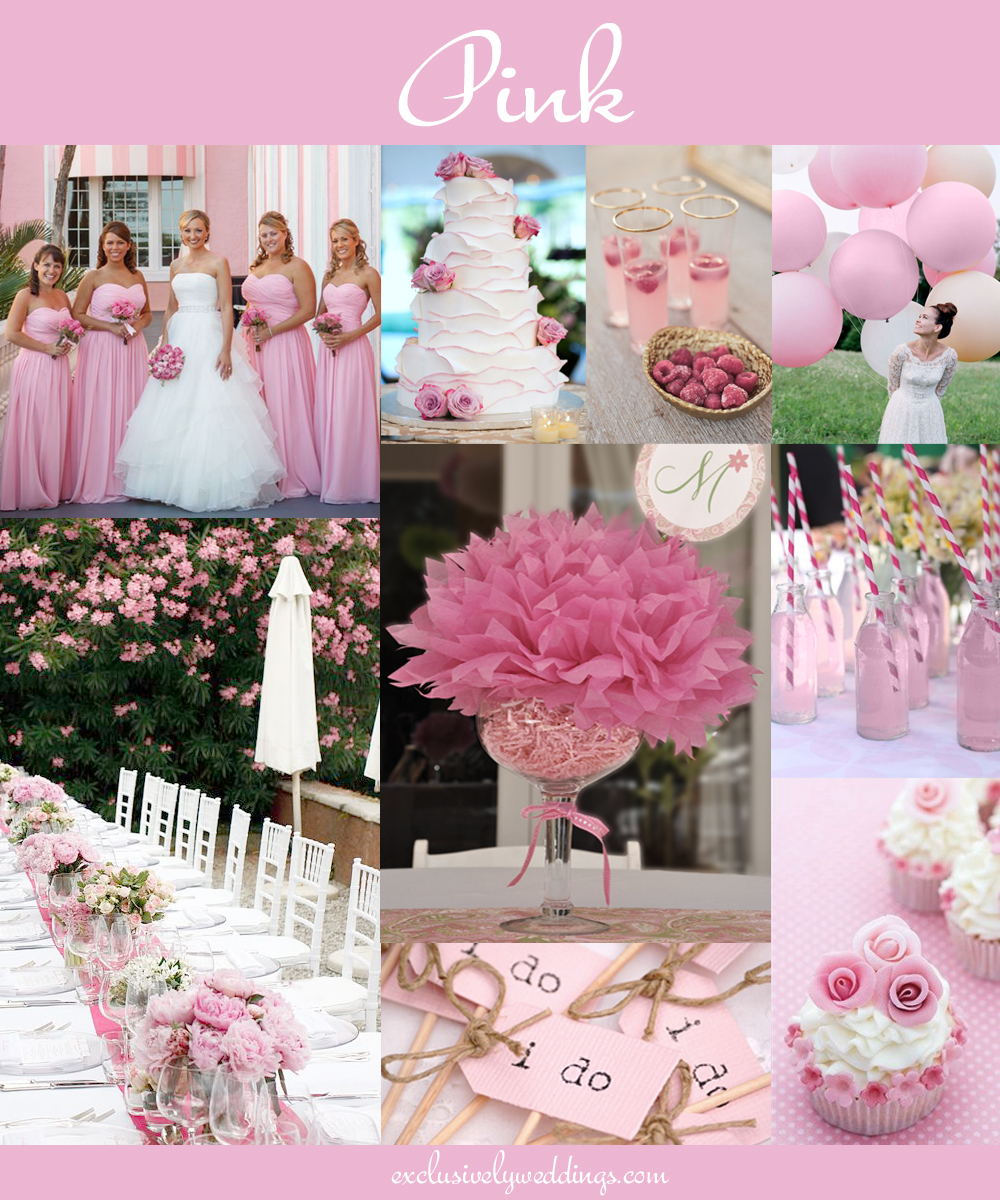 Color Ideas For Weddings: The 10 All-Time Most Popular Wedding Colors
