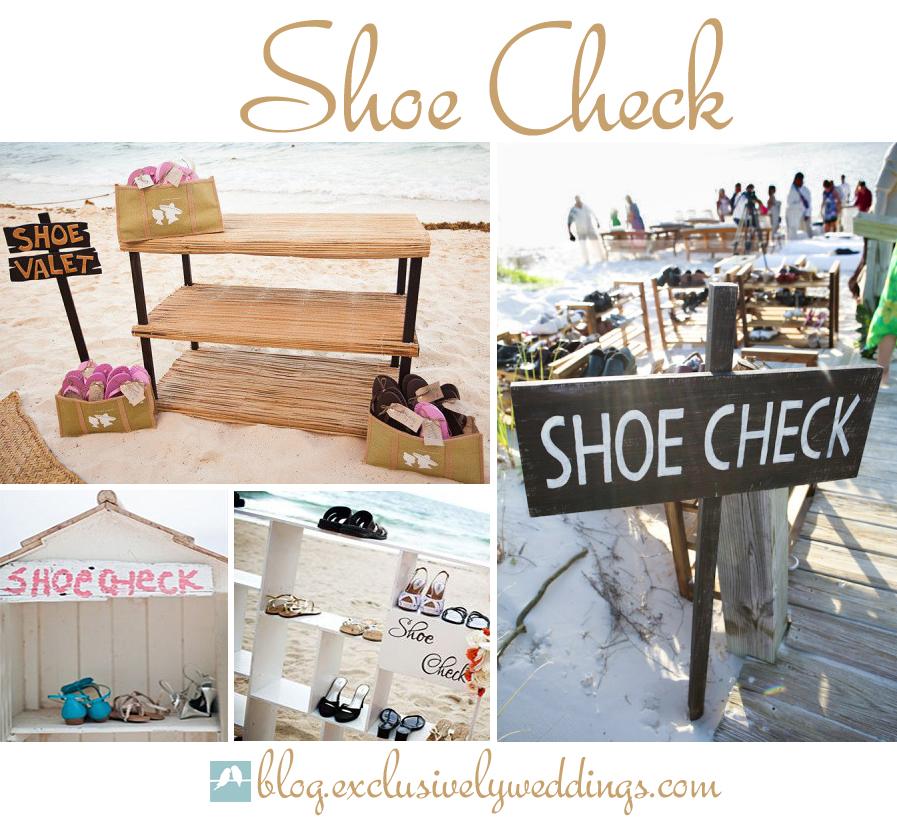 Beach Wedding Slippers