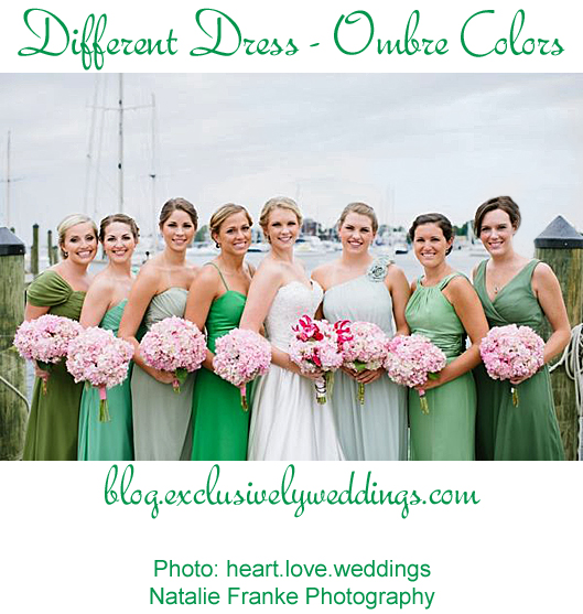 Bridesmaids_Different_Dress_Ombre_Colors