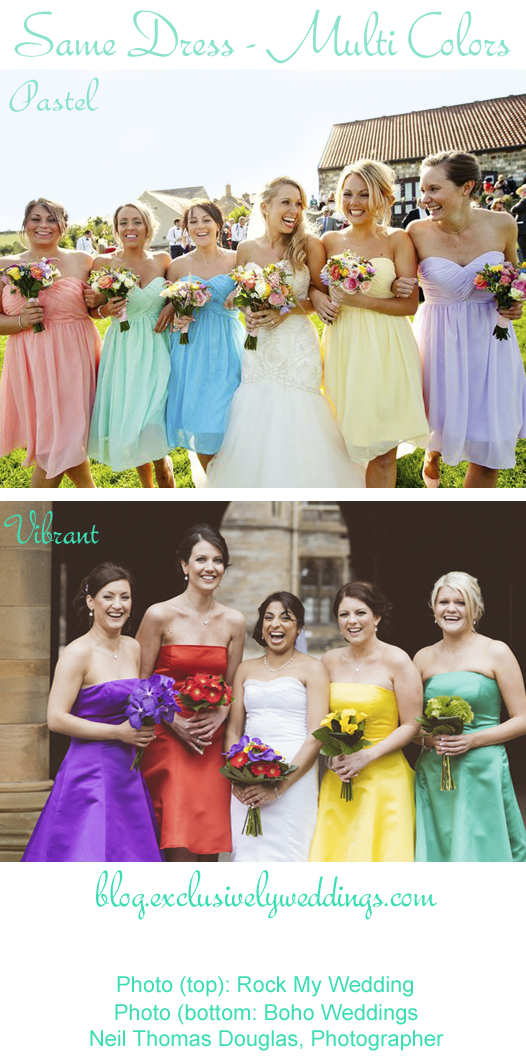 Bridesmaids_Same_Dress_Multi_Colors