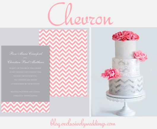 Gray_and_Pink_Chevron_Wedding_Invitation