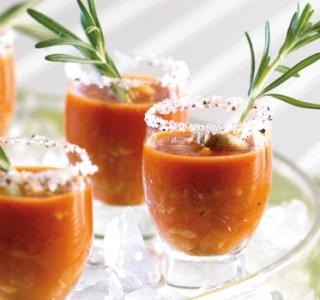 inset photo soup