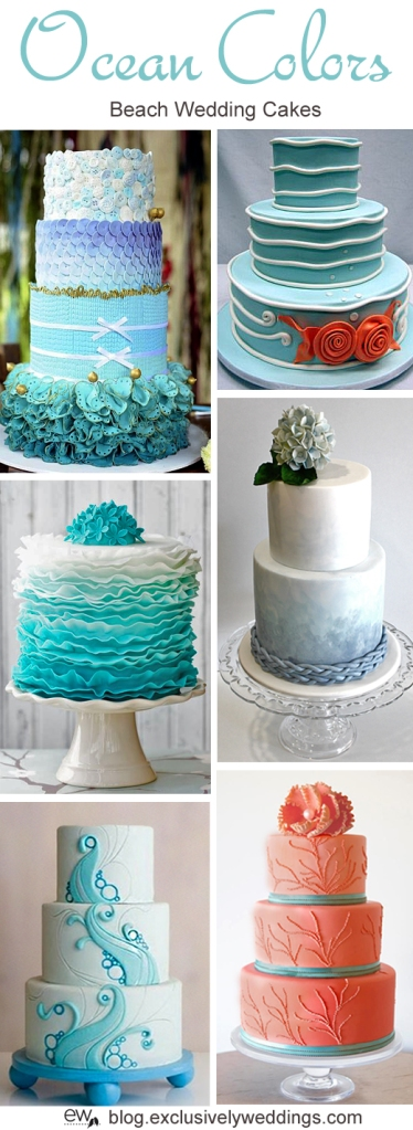 Ocean_Colors_Wedding_Cake