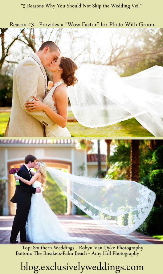 A_Wedding_Veil_Provides_A_Wow_Factor_For _Photo_With_Groom