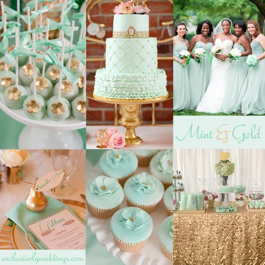 Mint-and-Gold-Wedding