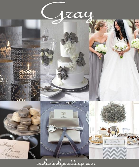 Gray-Wedding-Color