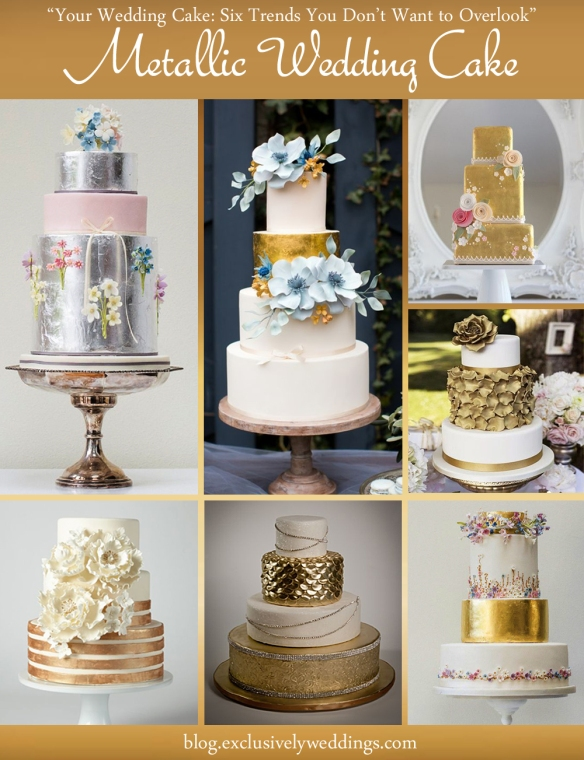 Metallic_Wedding_Cake