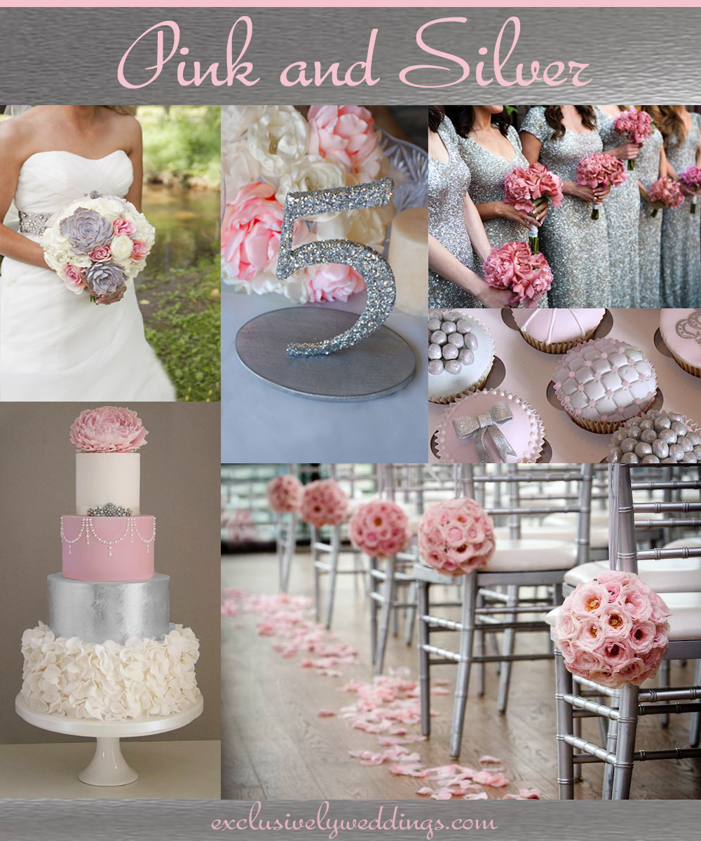 Your Wedding Colors - Pair Pink With a Neutral for a Groom-Friendly ...