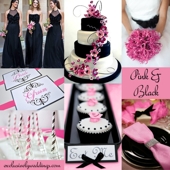 Pink_and_Black_ Wedding