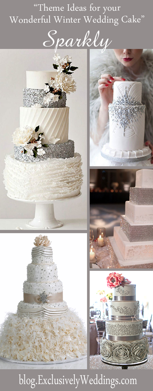 Theme_Ideas_ for_ Your_ Wonderful_ Winter_ Wedding_ Cake_ Sparkly