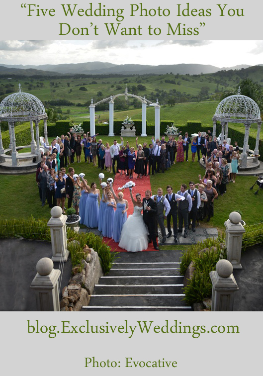 Five Wedding Photo Ideas You Don't Want to Miss - Guests in Shape of a Heart