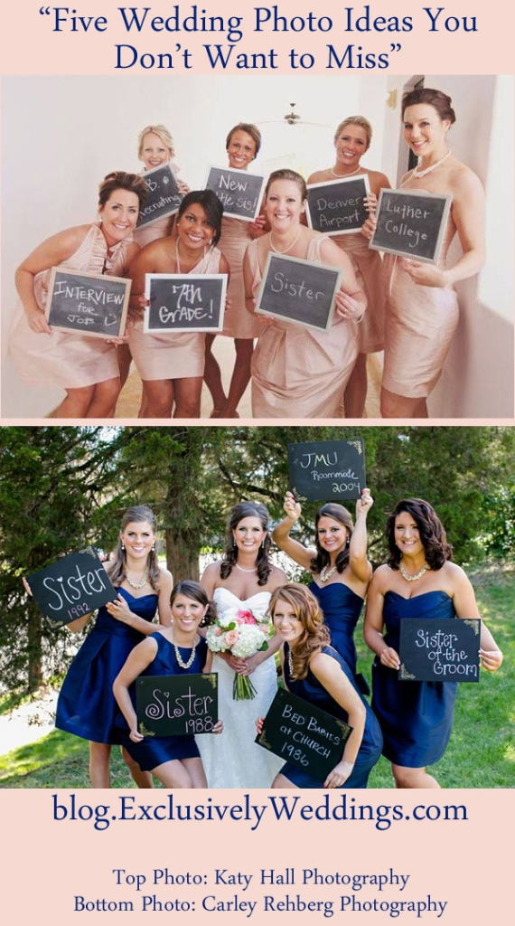 Five Wedding Photo Ideas You Don't Want to Miss - How the Bridesmaids Met the Bride