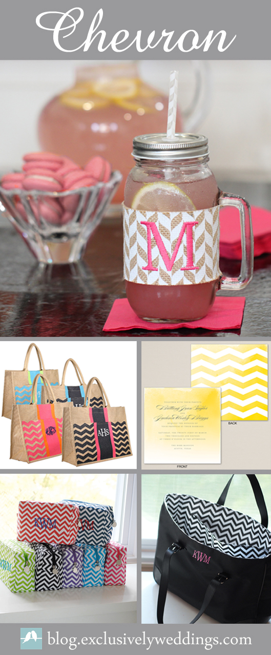 Chevron-Accessories-ExclusivelyWeddings