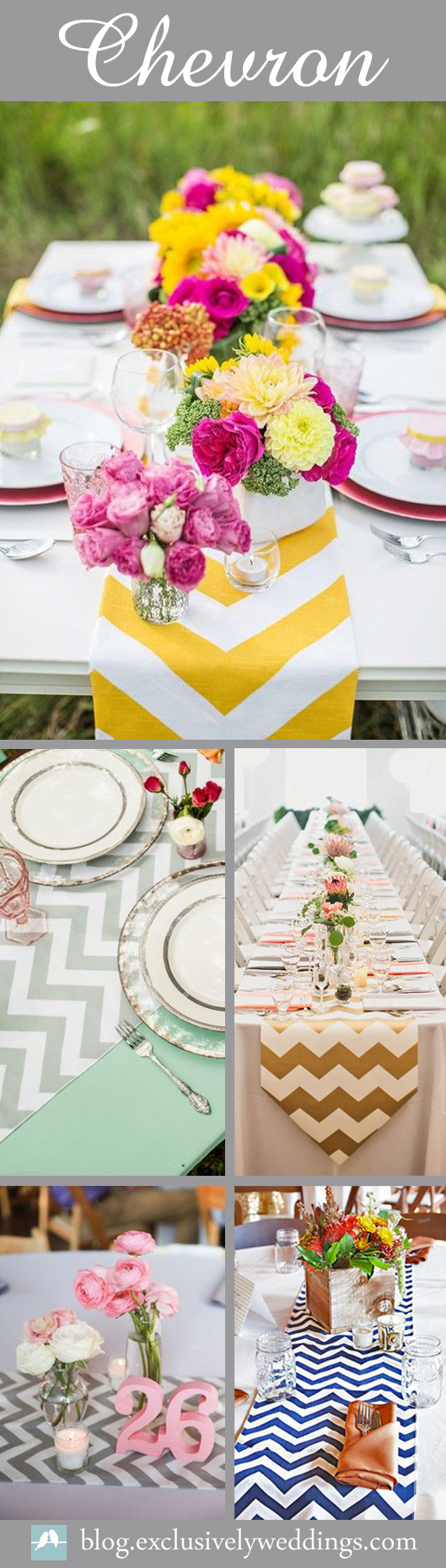 Chevron-Table-Decor-Ideas