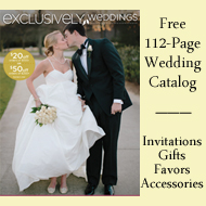 Click to order  your Free Exclusively Weddings Catalog