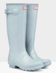 Porcelain Blue Hunter Boots