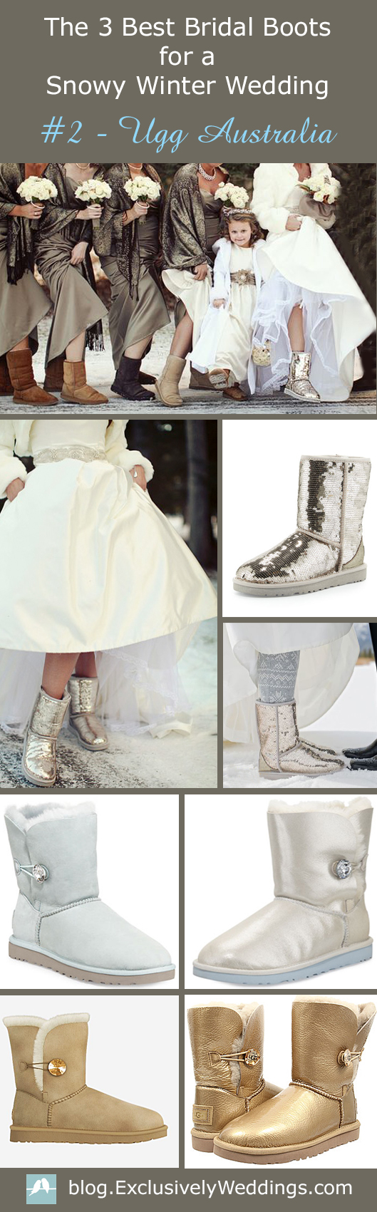 The 3 Best Bridal Boots For A Snowy Winter Wedding Ugg