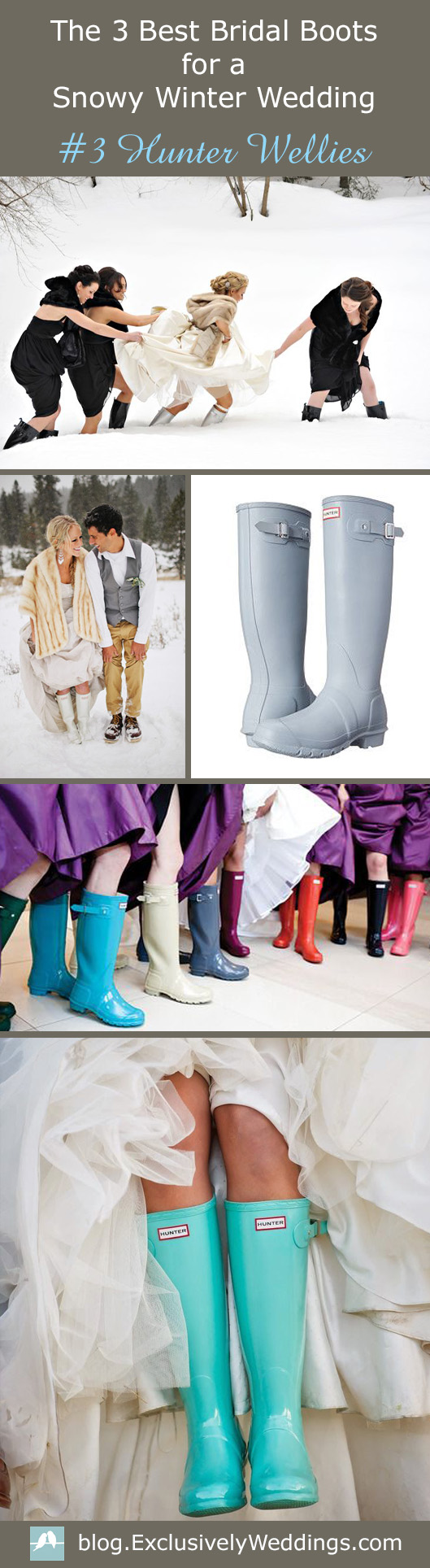 The_3_Best_Bridal_Boots_for_a_Snowy_Winter_Wedding_-Hunter Wellies