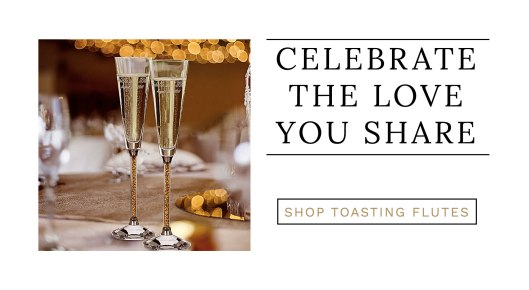 shop toasting flutes exclusively weddings